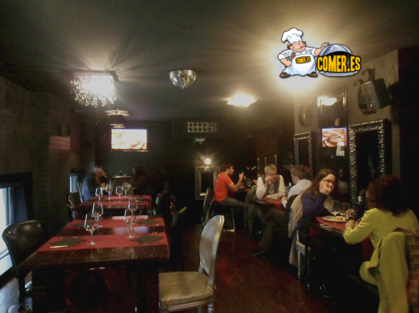 imagen del restaurante bilbaíno deluxe lounge
