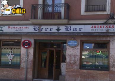 imagen del restaurante árabe en bilbao