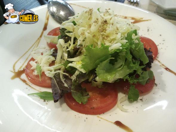 imagen de plato en el restaurante en la Alhóndiga Bilbao