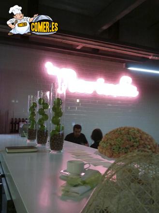 imagen del restaurante en la Alhóndiga Bilbao