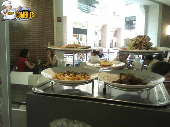 imagen de algunos platos del restaurante de bilbao
