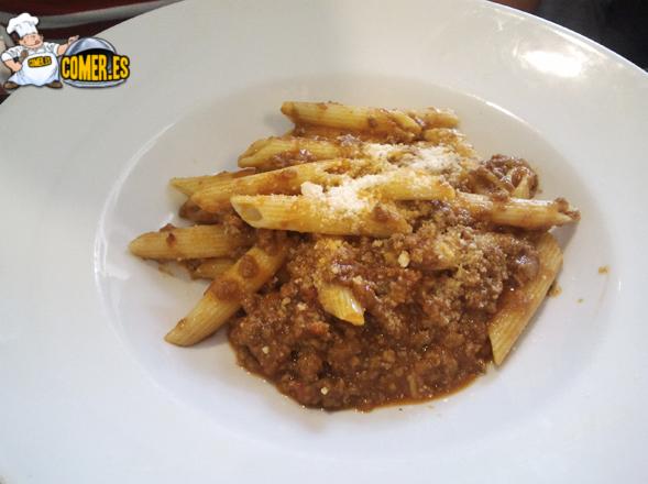 primer plato del menú del restaurante de bilbao