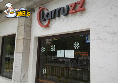imagen del restaurante especializado en arroces junto a la ría de Bilbao